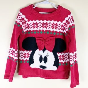 Disney Store Minnie Mouse Sweater
